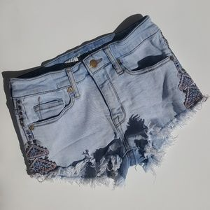Embroidered Cut-offs